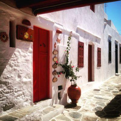 Séjour de randonnée Cyclades occidentales : Sifnos, village de Kastro