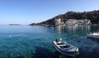 Village de Loutro sur l'île de Crète en Grèce