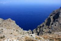 Chemin de randonnée à Amorgos