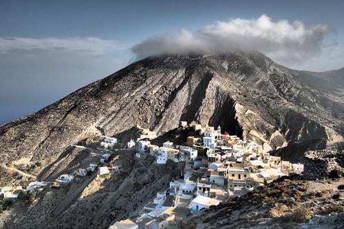 Notre randonnée à Karpathos passe par le village d'Olympos