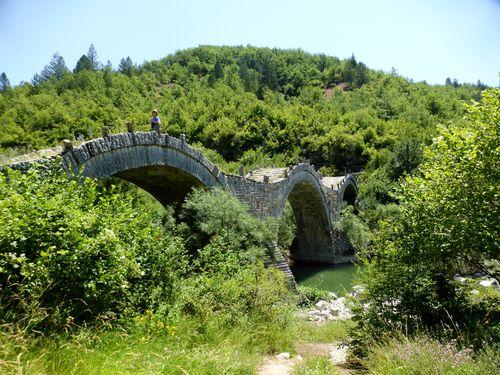 Séjour de randonnée Épire et Météores de 12 jours : les ponts en pierre de Zagorochoria