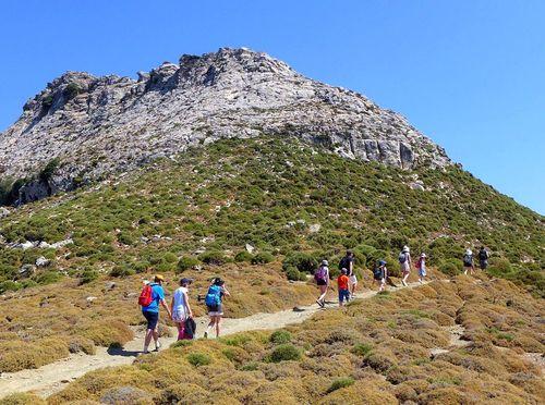 Randonnée à Naxos dans les Cyclades
