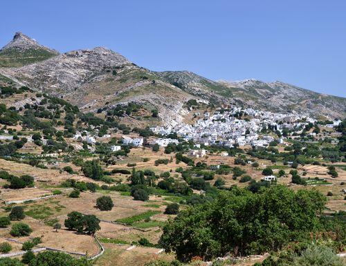 randonnée dans les Cyclades en Grèce
