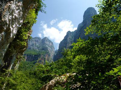 Circuits de randonnée en Grèce, gorges de Vikos