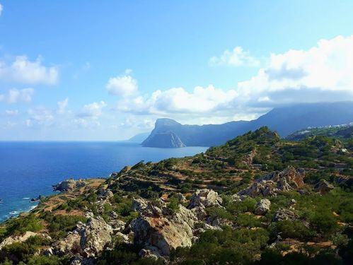 Randonnée en Grèce en groupe constitué: Karpathos, Dodécanèse