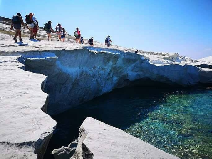 randonnée groupes constitués en Grèce