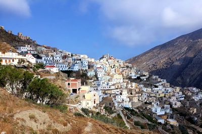 Itinéraire de randonnée à Karpathos : village d'Olympos