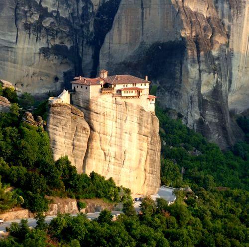 Monastère aux Météores en Grèce