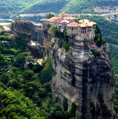 Randonnées en Grèce, Monastère de Varlaam, Météores