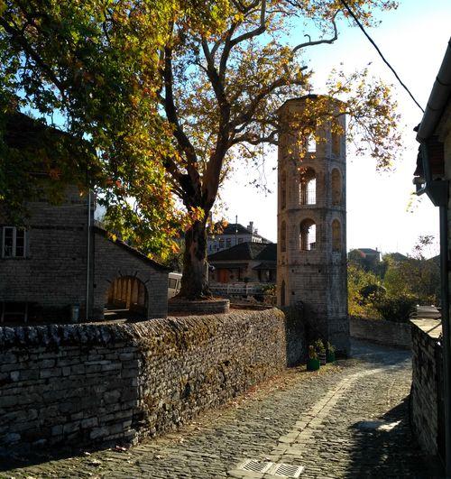 Randonnée en Épire en Grèce : village de Megalo Papigo