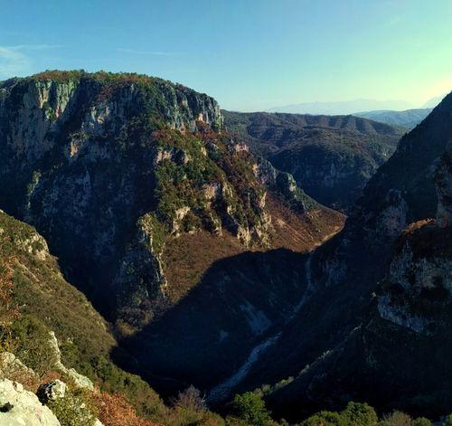 Séjour de randonnée en Grèce, gorges de Vikos, Épire