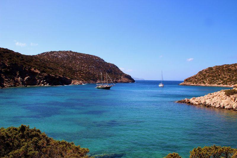 Circuit de randonnée Cyclades occidentales : Sifnos, baie de Fikiada