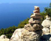 Randonnée en Grèce, ile de Corfou, Aggelokastro