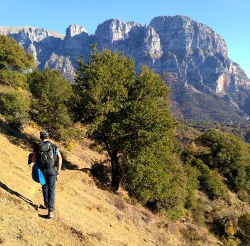 Circuit de randonnée Épire et Météores , sommets de Mont Timfi