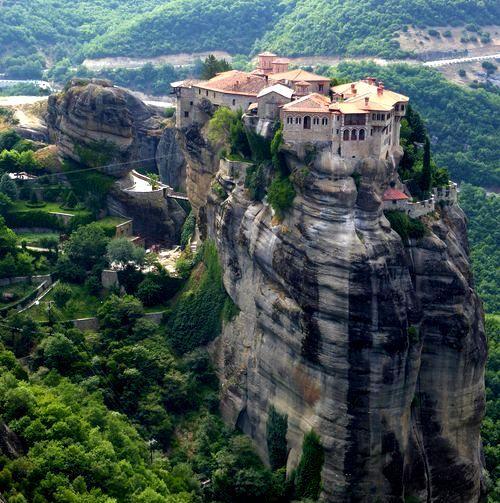 Séjour de randonnée Épire et Météores de 12 jours : monastère de Varlaam