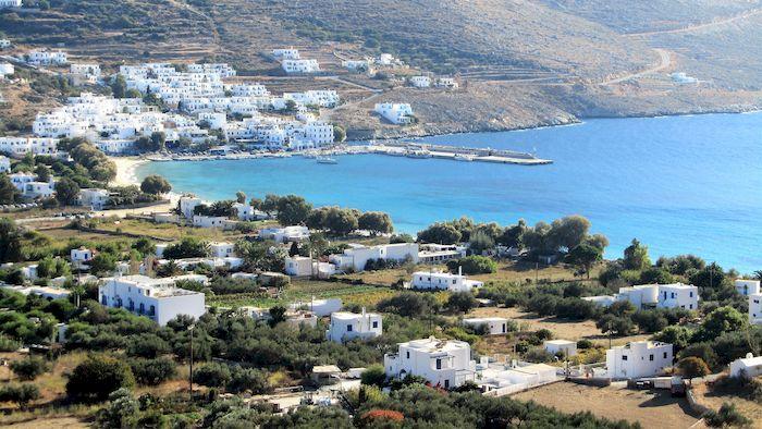Randonnée à Amorgos : bord de mer
