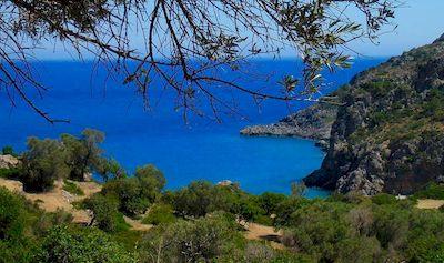 Randonnée en liberté en Crète de l'Ouest