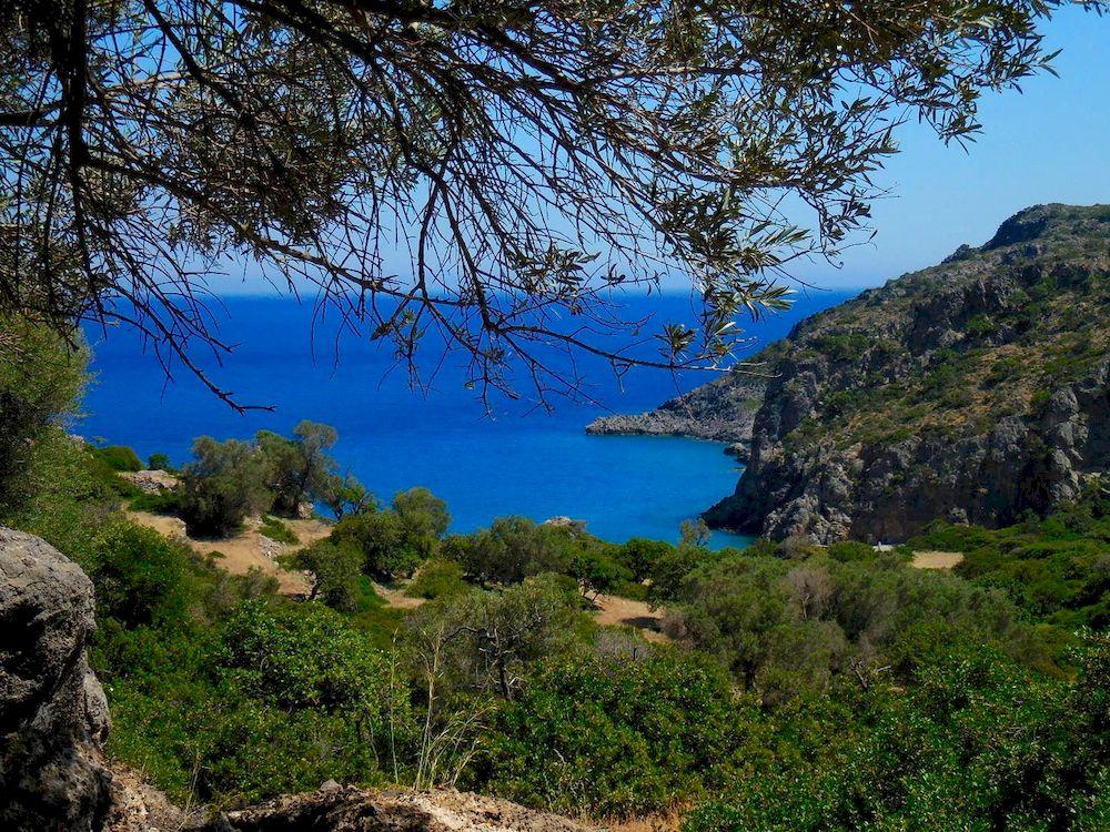 Randonnée en Grèce, Crète, chemin Paleochora Sougia