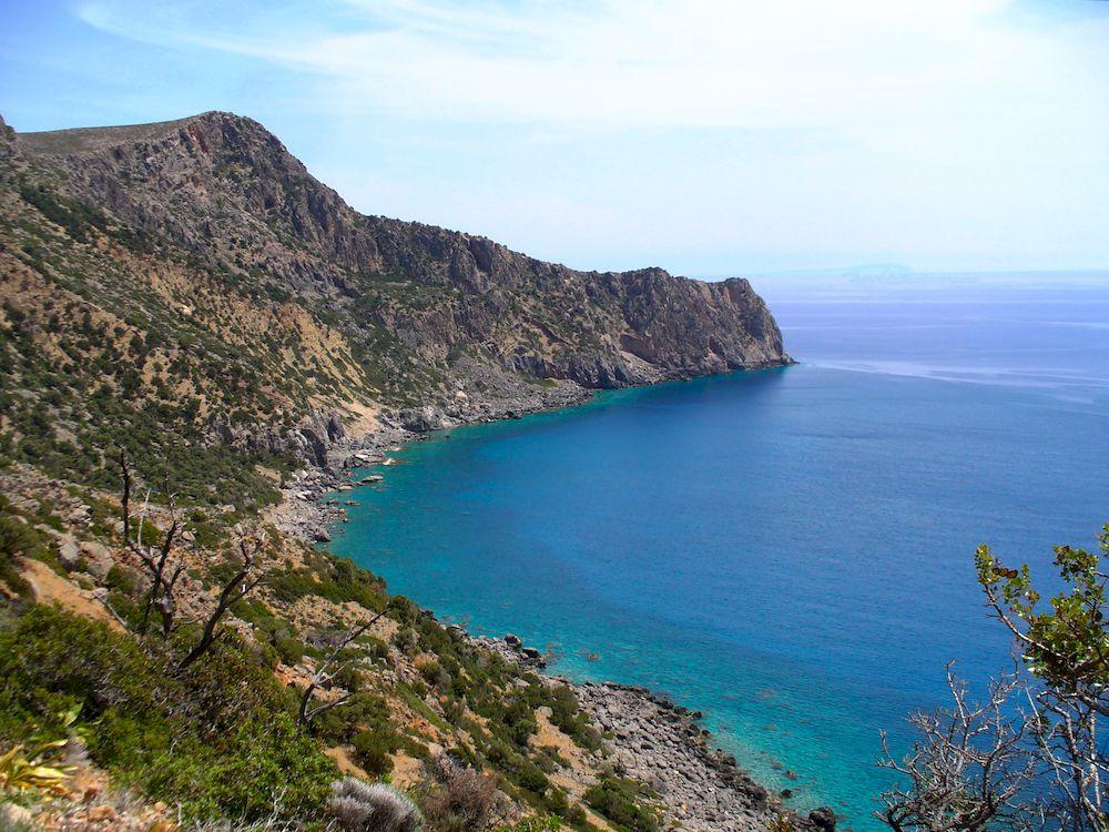 Randonnée en Grèce, Crète, Paleochora Sougia