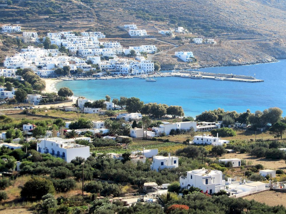 Randonnée en Grèce, Cyclades, Amorgos, Aegiali