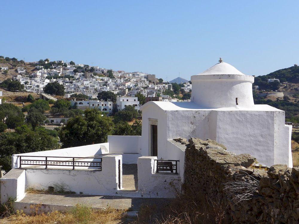 Randonnée en Grèce, Cyclades, Naxos, église
