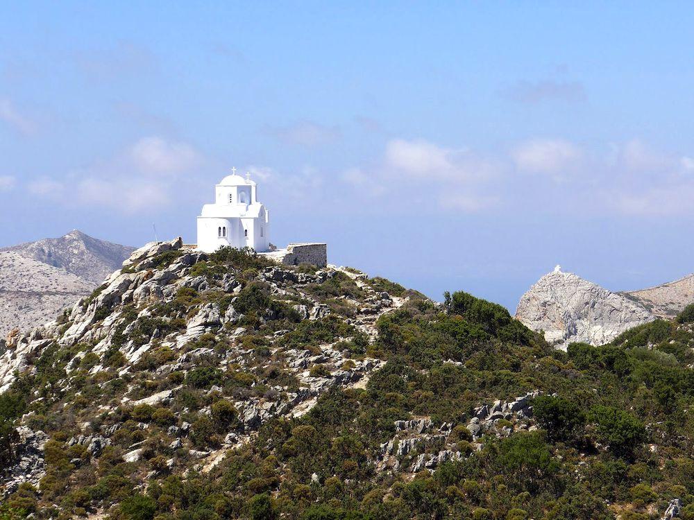 Randonnée en Grèce, Cyclades, Naxos, itinéraire Filoti - Zas