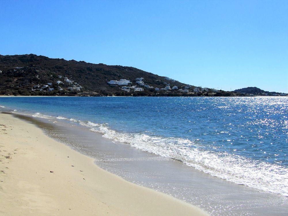Randonnée en Grèce, Cyclades, Naxos, plage