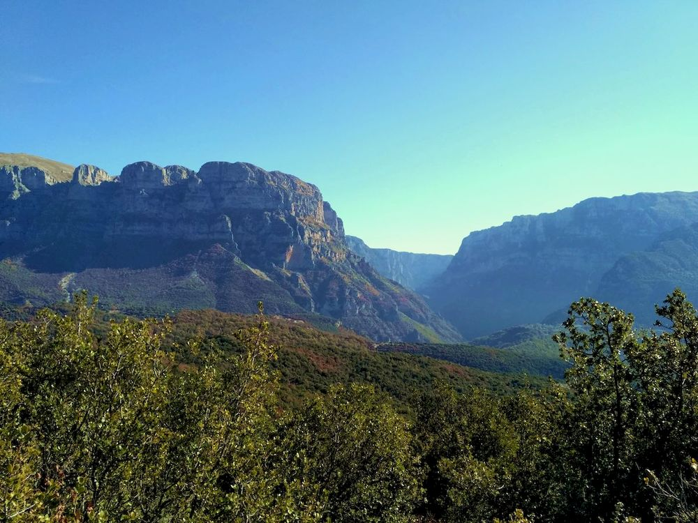 Randonnée en Grèce, Épire, Mont Timfi
