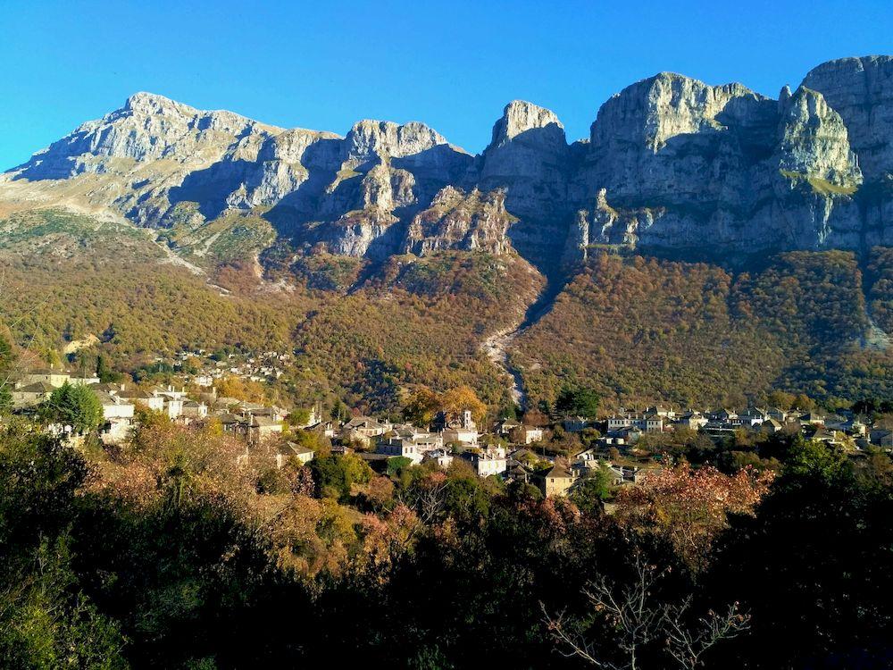 Randonnée en Grèce, Épire, Papigo