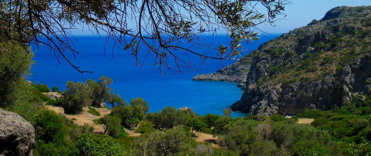 Randonnée en liberté en Crète