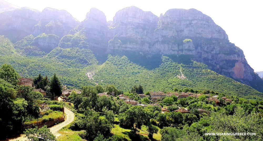 Randonnée en Grèce, Epire, Zagorochoria, Mikro Papigo