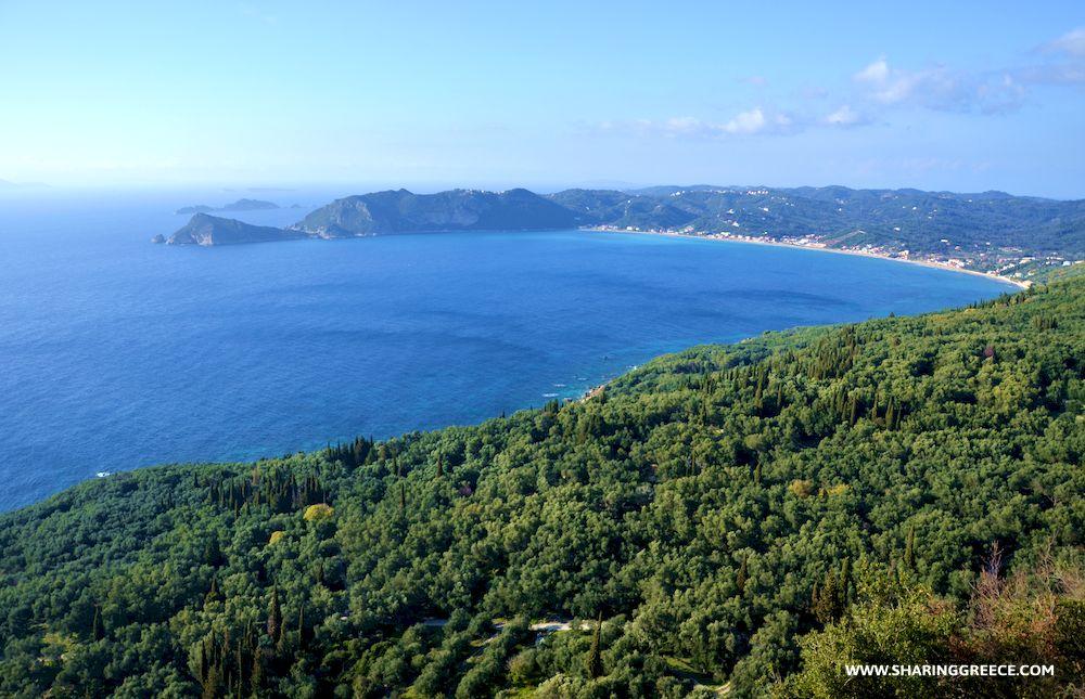 Randonnée en Grèce avec Sharing Greece, Corfou, descente vers Agios Giorgios