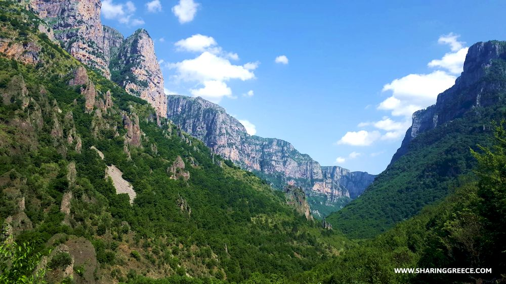 Circuit en Grèce Continentale, Épire Météores et Corfou : randonnée dans les gorges de Vikos