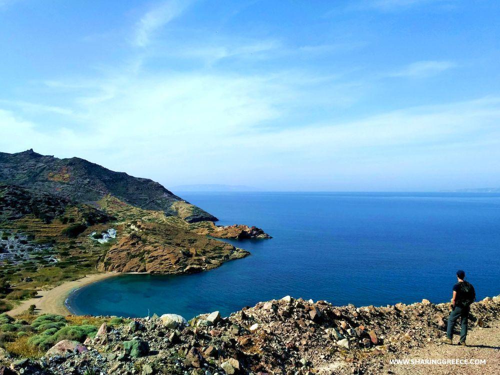 Randonnée en Grèce, Cyclades, Kimolos, Monastiria