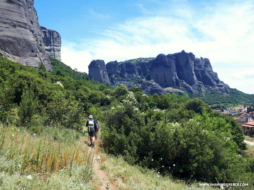 Chemin de randonnée, Météores, Grèce continentale