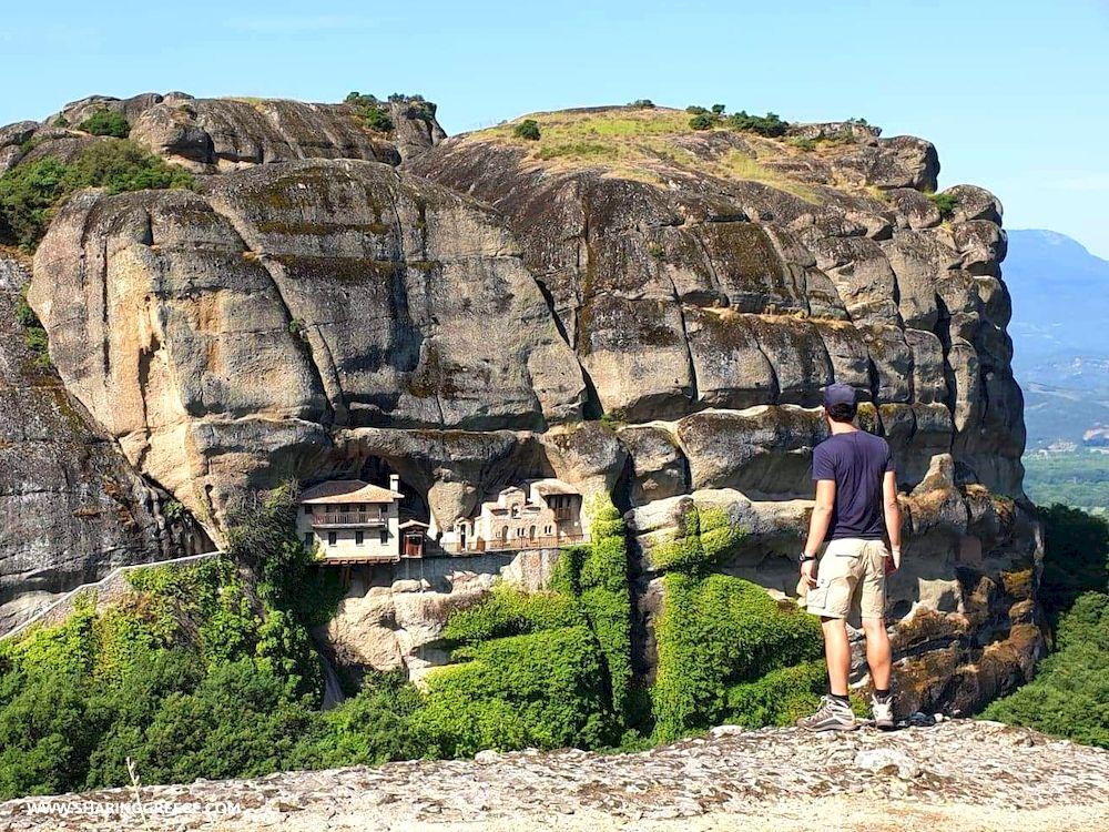 Randonnée Grèce continentale, monastères de Météores