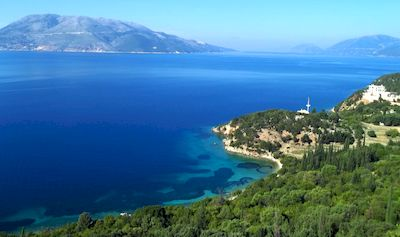 Randonnée dans les îles Ioniennes