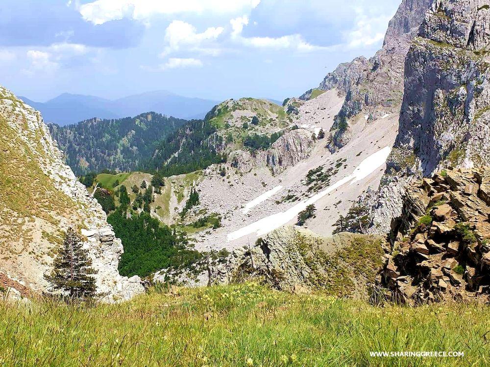 Randonnée en montagne, Épire, Grèce