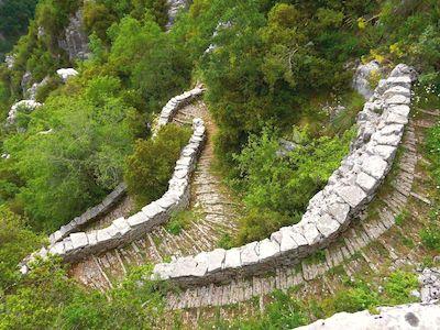 Rando grèce continentale, circuit Epire, Skala Vratedou